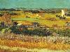 Free Artistic Wallpaper : Van Gogh - Harvest