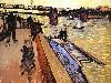 Free Artistic Wallpaper : Van Gogh - Le Pont de Trinquetaille