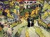 Free Artistic Wallpaper : Van Gogh - Stairway at Auvers