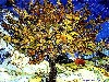Free Artistic Wallpaper : Van Gogh - The Mulberry Tree