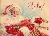 Free Artistic Wallpaper : Vintage Christmas - Santa Claus