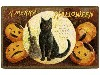 Free Artistic Wallpaper : Halloween - Vintage