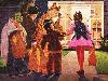 Free Artistic Wallpaper : Vintage - Halloween Kids