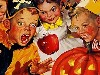 Free Artistic Wallpaper : Vintage - Halloween Kids