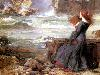 Free Artistic Wallpaper : Waterhouse - Miranda