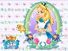 Free Cartoons Wallpaper : Alice in Wonderland