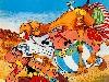 Free Cartoons Wallpaper : Asterix and Obelix