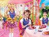 Free Cartoons Wallpaper : Barbie - Princess Charm School