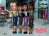 Free Cartoons Wallpaper : Bratz 3D