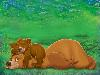 Free Cartoons Wallpaper : Brother Bear
