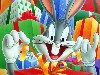 Free Cartoons Wallpaper : Bugs Bunny - Christmas