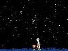 Free Cartoons Wallpaper : Calvin and Hobbes - Stars