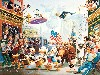 Free Cartoons Wallpaper : Carl Barks - Parade