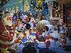 Free Cartoons Wallpaper : Uncle Scrooge (Christmas) - Carl Barks