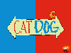 Free Cartoons Wallpaper : CatDog