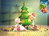 Free Cartoons Wallpaper : Cats Don't Dance - Christmas