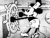 Free Cartoons Wallpaper : Classic Mickey Mouse - Steamboat Willie