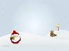 Free Cartoons Wallpaper : Cute Santa Claus