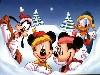 Free Cartoons Wallpaper : Disney - Christmas