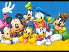 Free Cartoons Wallpaper : Disney - Gang
