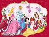 Free Cartoons Wallpaper : Disney Princess - Christmas