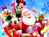 Free Cartoons Wallpaper : Disney Xmas - 3D