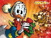 Free Cartoons Wallpaper : Donald Duck - Christmas