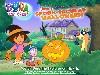 Free Cartoons Wallpaper : Dora - Halloween