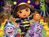 Free Cartoons Wallpaper : Dora - Halloween Parade