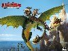 Free Cartoons Wallpaper : Dragons - Riders of Berk