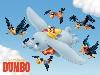 Free Cartoons Wallpaper : Dumbo