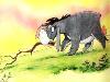 Free Cartoons Wallpaper : Eeyore