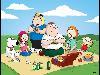 Free Cartoons Wallpaper : Family Guy - Picnic