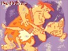 Free Cartoons Wallpaper : Flintstones