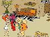 Free Cartoons Wallpaper : Flintstones - Romance