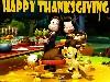 Free Cartoons Wallpaper : Garfield - Thanksgiving