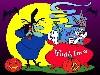 Free Cartoons Wallpaper : Bugs Bunny - Halloween