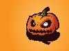 Free Cartoons Wallpaper : Halloween - Pumpkin