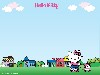 Free Cartoons Wallpaper : Hello Kitty