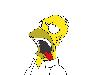 Free Cartoons Wallpaper : Homer Simpson