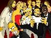 Free Cartoons Wallpaper : Homer Simpson - Selfie