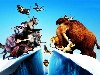 Free Cartoons Wallpaper : Ice Age - Continental Drift