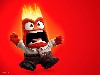 Free Cartoons Wallpaper : Inside Out - Anger