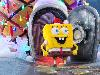 Free Cartoons Wallpaper : Spongebob - Christmas