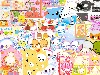 Free Cartoons Wallpaper : Kawaii - Collage