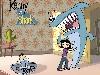 Free Cartoons Wallpaper : Kenny the Shark