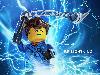 Free Cartoons Wallpaper : Lego Ninjago - Jay