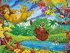 Free Cartoons Wallpaper : Lion King