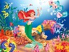 Free Cartoons Wallpaper : The Little Mermaid