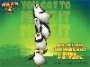 Free Cartoons Wallpaper : Madagascar 2 - Penguins